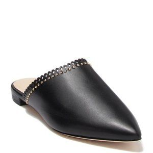 Cole Haan Raelyn Leather Mule size 9 Black